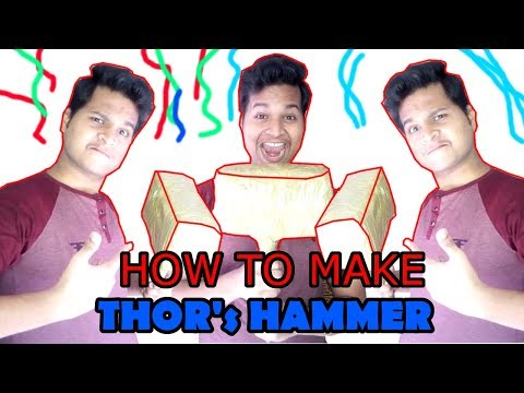 Make Thor's Hammer at Home | *WITH PAPER* Very Strong and PowerFulll | 100 % Usable | PAPER