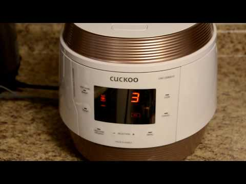 Cuckoo Multicooker Q5 Pressure Cooker - Unboxing, Review and Test