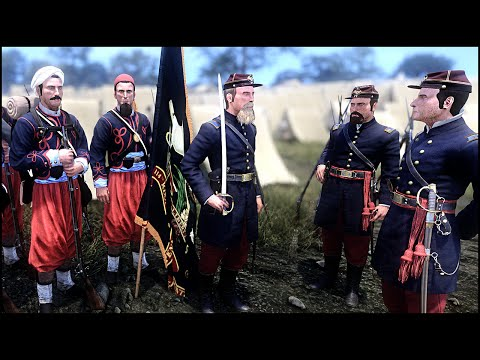 UNION ARMY DRILL CAMP - War of Rights Gameplay