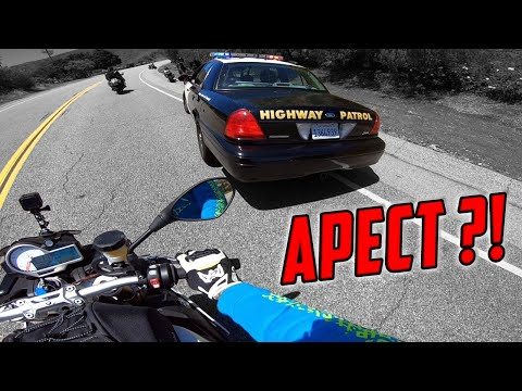 На Мотоцикле в АМЕРИКЕ / Поймала ПОЛИЦИЯ  Los Angeles CALIFORNIA