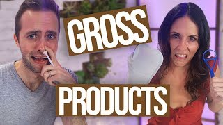 Trying the Grossest Products on Amazon w/ Ryland Adams!! (Beauty Break)