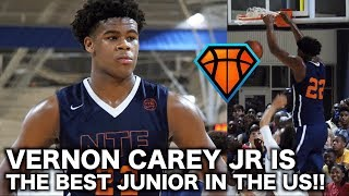 6\'10 Vernon Carey is the #1 Junior in the Country!! | Best of the South Highlights