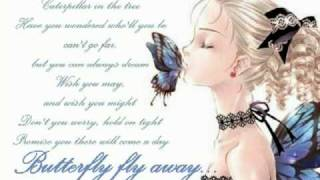 Butterfly fly away [ Karaoke / Instrumental ] with lyrics