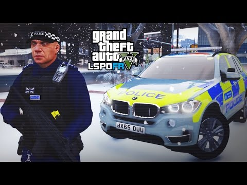 GTA 5 LSPDFR *LIVE* - ARMED POLICE CHAOS!! - The British way #81