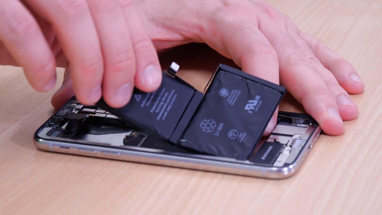 iPhone X Akku tauschen - Anleitung