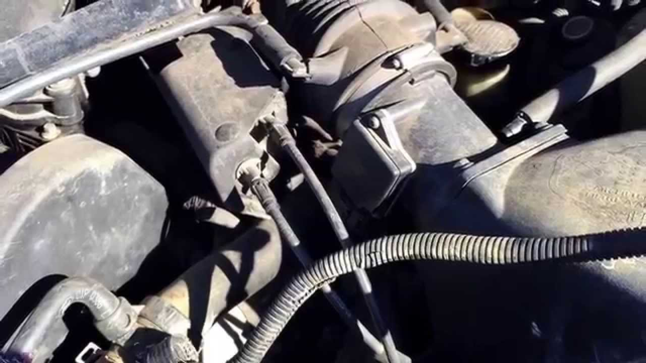 hight resolution of ford taurus mass airflow repair 2001