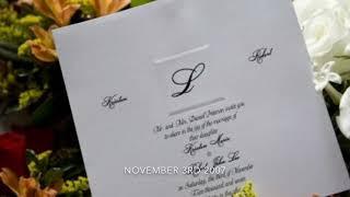 Happy 11th wedding anniversary Kristen 11-3-18