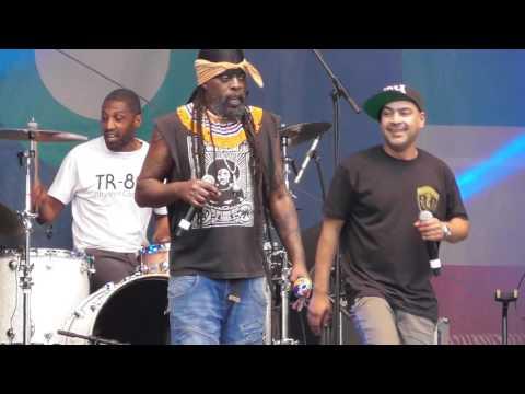 Asian Dub Foundation part 13 @ World Village Festival 2016, Helsinki