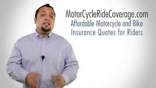 Motorcycle Insurance Quotes - Coverage for Bike