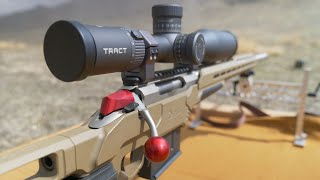 How To Mount, Level and Zero Your Precision Rifle Scope! Tract Toric Ultra HD FFP Scope!