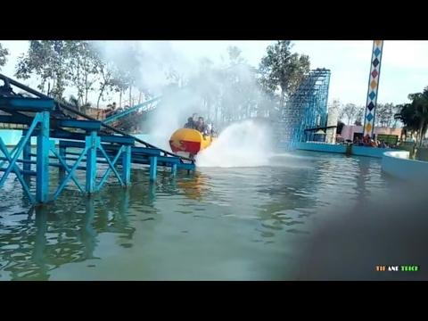 Bareilly Fun City Roller Coaster Youtube