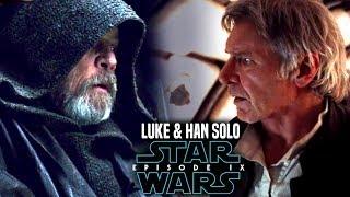 Star Wars Episode 9 Luke Meets Han Solo! Leaked Details & More (Star Wars The Rise Of Skywalker)