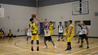 2018 Burnaby Fall League - Voodoo vs Emperors - Roundball BC Mens Basketball League