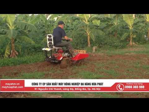 Chức năng xới đất của máy nông nghiệp đa năng AHM 8GCH
