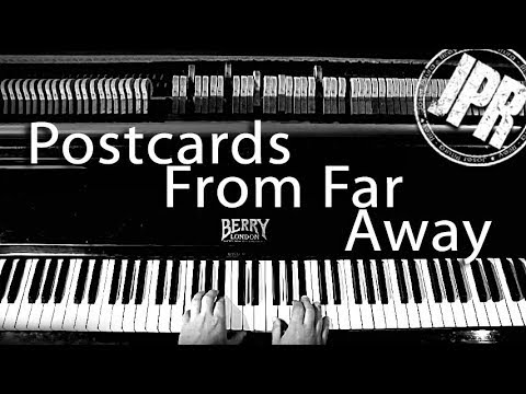 Postcards From Far Away - COLDPLAY INSTRUMENTAL PIANO COVER (By Josef Pitura-Riley)