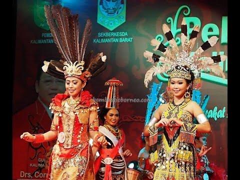 Pemilihan Bujang Dara Gawai Dayak Pontianak, Kalimantan Barat, Wonderful Indonesia