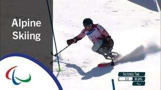 Dino SOKOLOVIC | Men's Slalom Run 1&2 |Alpine Skiing | PyeongChang2018 Paralympic Winter Games