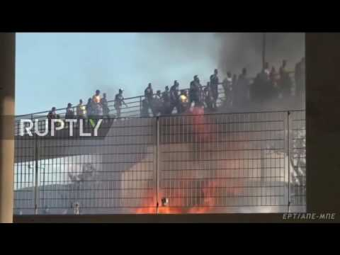 Greece: Over 40 injured as violent clashes mar Greek Cup final