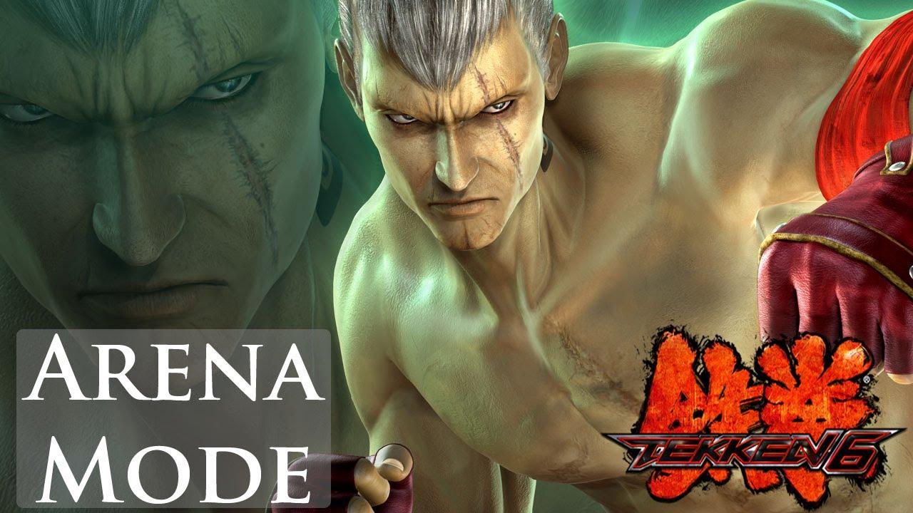 Tekken 6 Arena Mode Bryan Fury Youtube