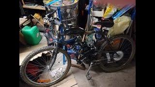 #DIY 8/Montage moteur thermique 50/80cc sur un vélo ( difficultée moyenne )