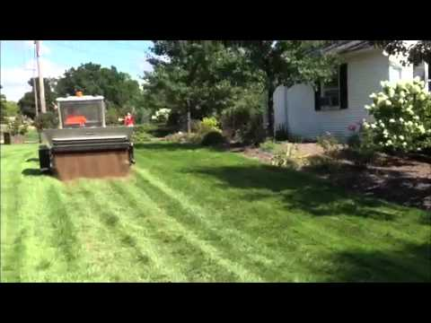 top dressing your lawn youtube. Black Bedroom Furniture Sets. Home Design Ideas