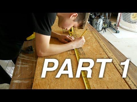 Ultimate DIY Wooden Desk Shelf | Part 1