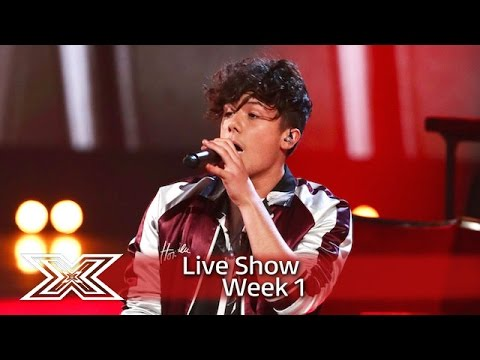 Ryan Lawrie performs One Direction's Perfect | Live Shows Week 1| The X Factor UK 2016