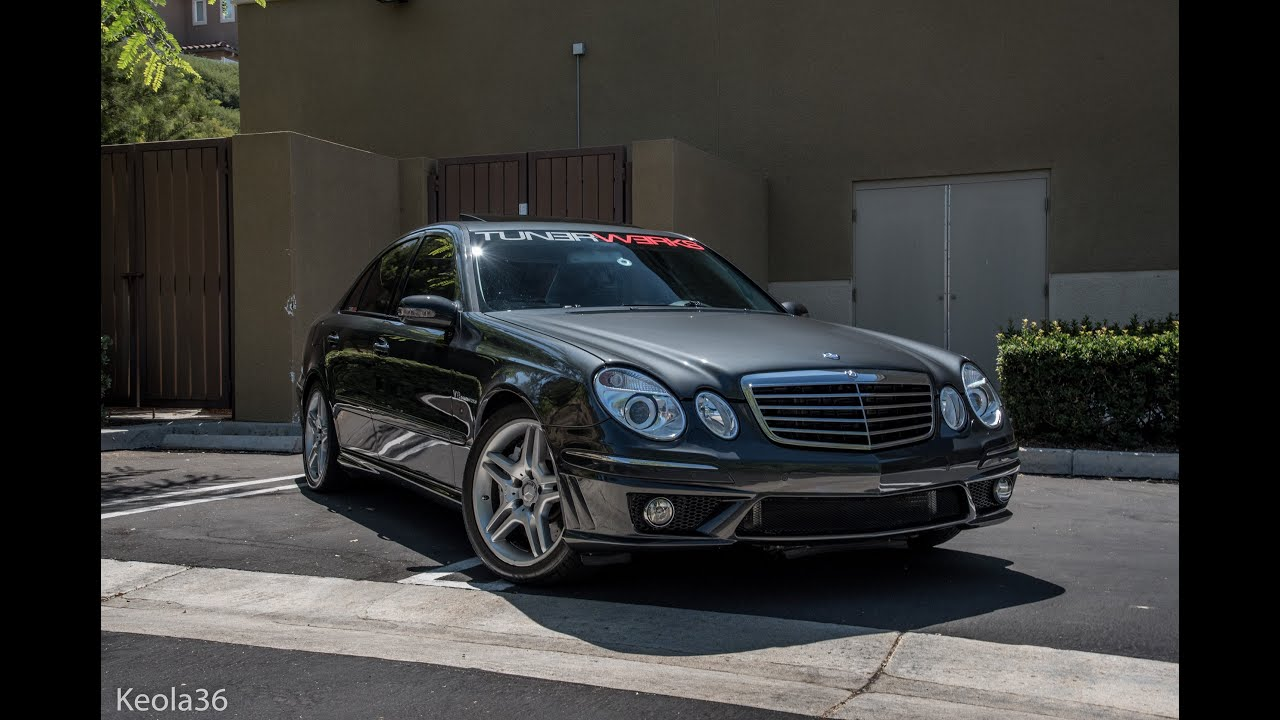 Mercedes Benz E55 AMG : SuperCharged Luxury Sedan   YouTube