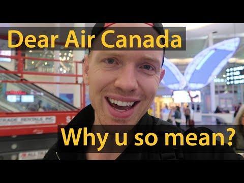 AIR CANADA - SERVICE THAT SUCKS (Air Canada Rouge)