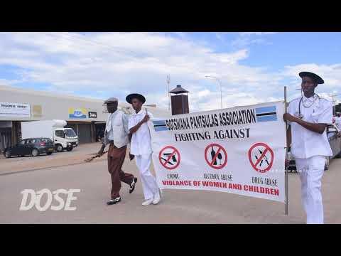 Annual Pantsula Parade #DoseBotswanaTour