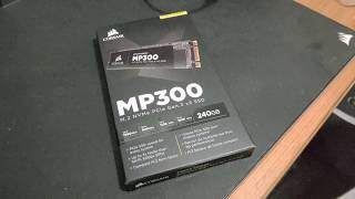Corsair Force Series MP300 240GB M.2 SSD開箱