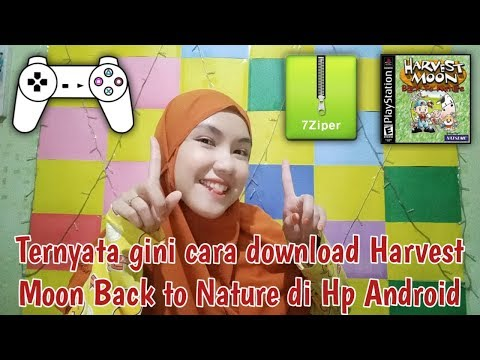 CARA DOWNLOAD GAME HARVEST MOON BACK TO NATURE DI HP ANDROID