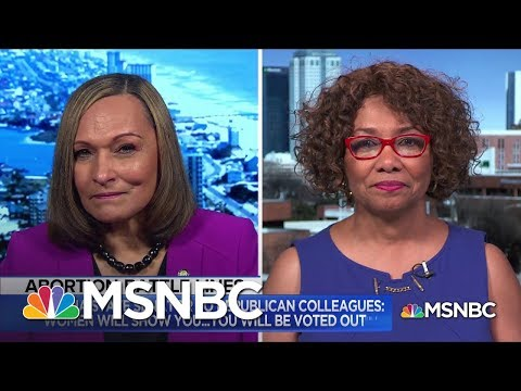 Meet Two Female Alabama State Senators Who Voted Against Abortion Ban | MSNBC