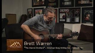 Vintage Folk Acoustic Guitar Ft. The Warren Brothers | Luna Guitars