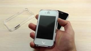 ОБЗОР: Практичный Пластиковый Бампер для iPhone 4/4s с Защелкой(Цена и наличие тут: http://elektroboom.com.ua/apple-iphone-4/4s/praktichniie-plastikoviie-bamper-dlya-iphone-4/4s-s-zashelkoie.html Все чехлы и ..., 2016-08-16T13:33:06.000Z)