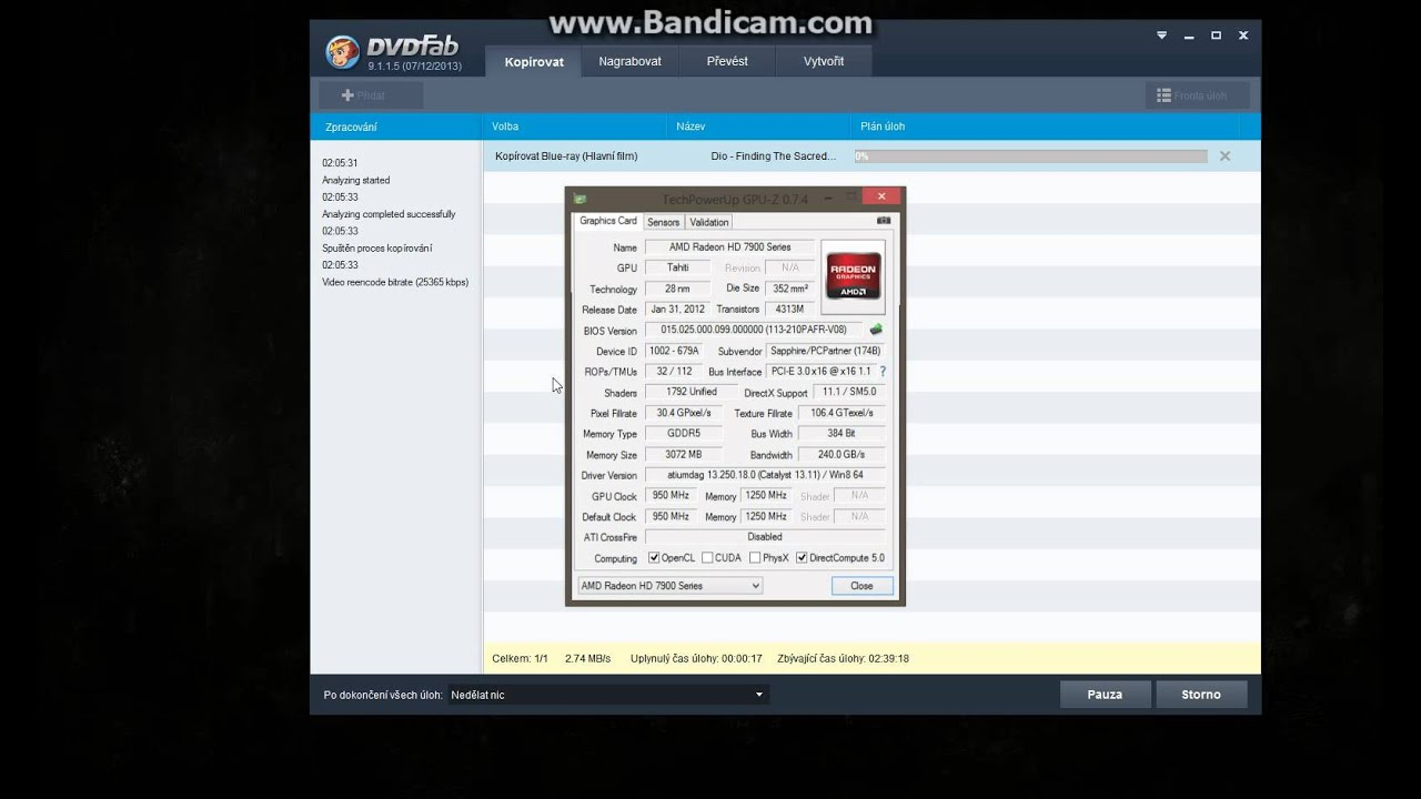 How to shrink BD50 to BD25 with DVDFab 9 faster