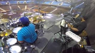 Ariana Grande Sound Check - Drum Cam