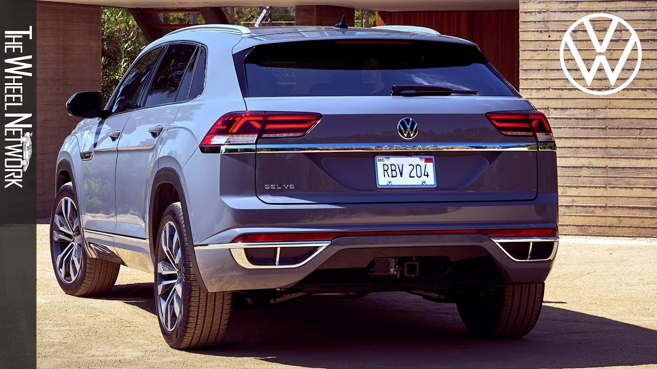 2020 Volkswagen Atlas Cross Sport Exterior Interior Us Spec Suv Coupe