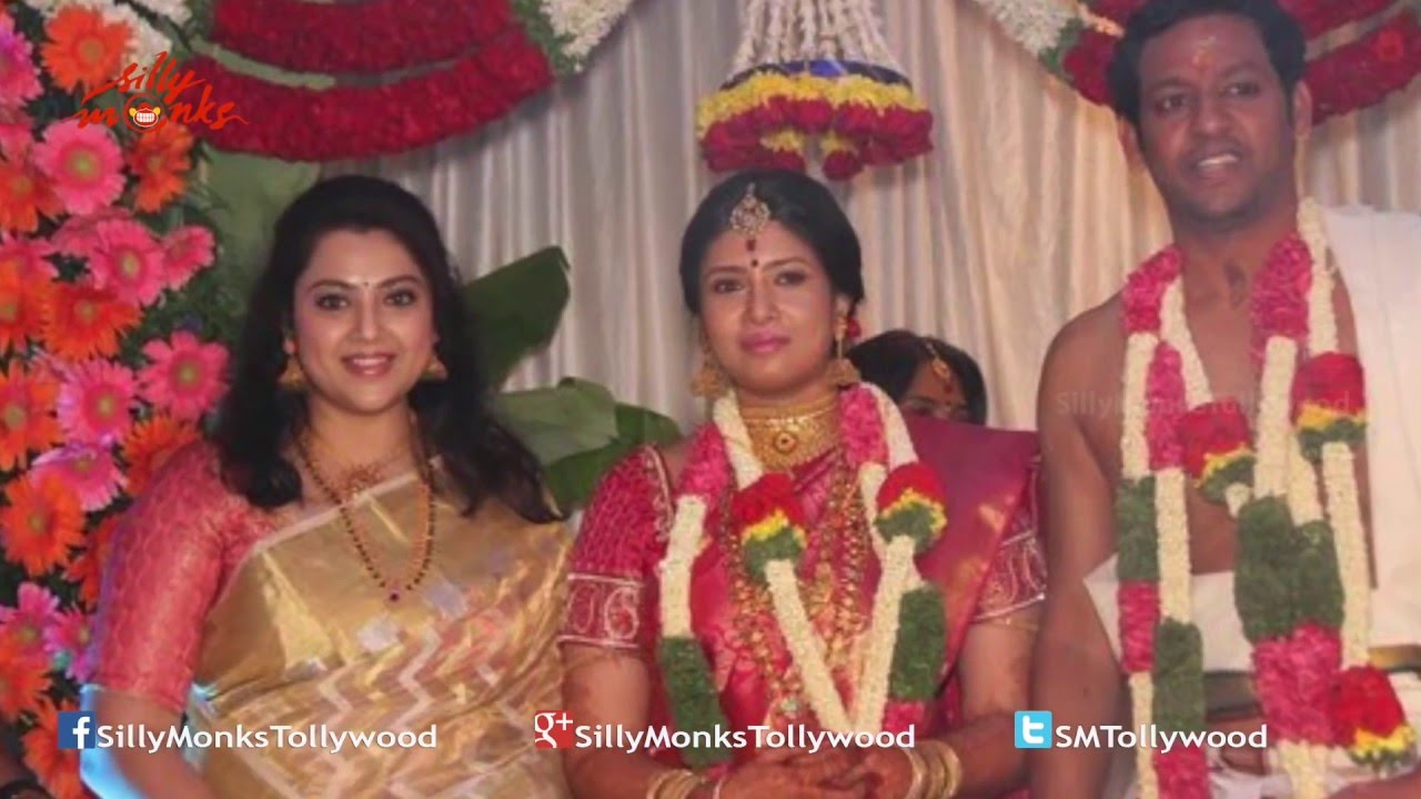 Pictures Of Actress Sanghavi Marriage Attended By Film Stars Like Meena You