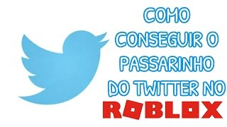 ROBLOX: HOW TO GET the TWITTER FINCH (and WARNINGS)