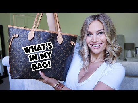 What's In My Bag!   Louis Vuitton Neverfull