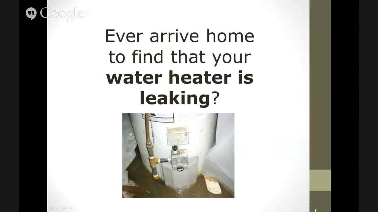 Image Result For Water Heater Is Leaking