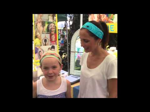At the beach America headband testimonial fashionista