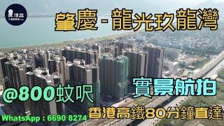 龍光玖龍灣|@800蚊呎|香港高鐵80分鐘直達|香港銀行按揭 (實景航拍)