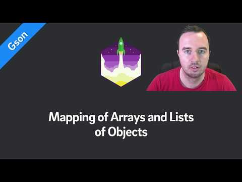 Gson Tutorial — Mapping of Arrays and Lists of Objects