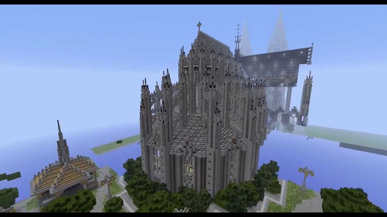 Cologne Cathedral Map Minecraft W Download Link Youtube