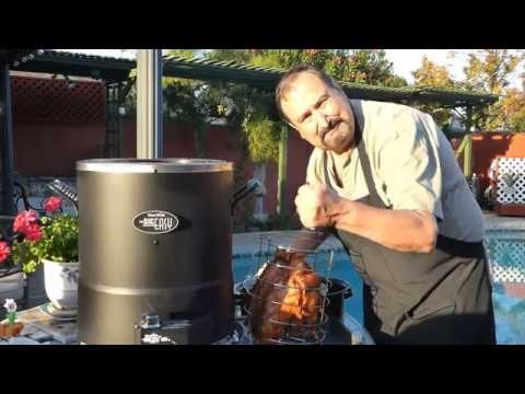 Bacon Wrap Turkey - Char Broil Big Easy  Oil-Less Turkey Fryer