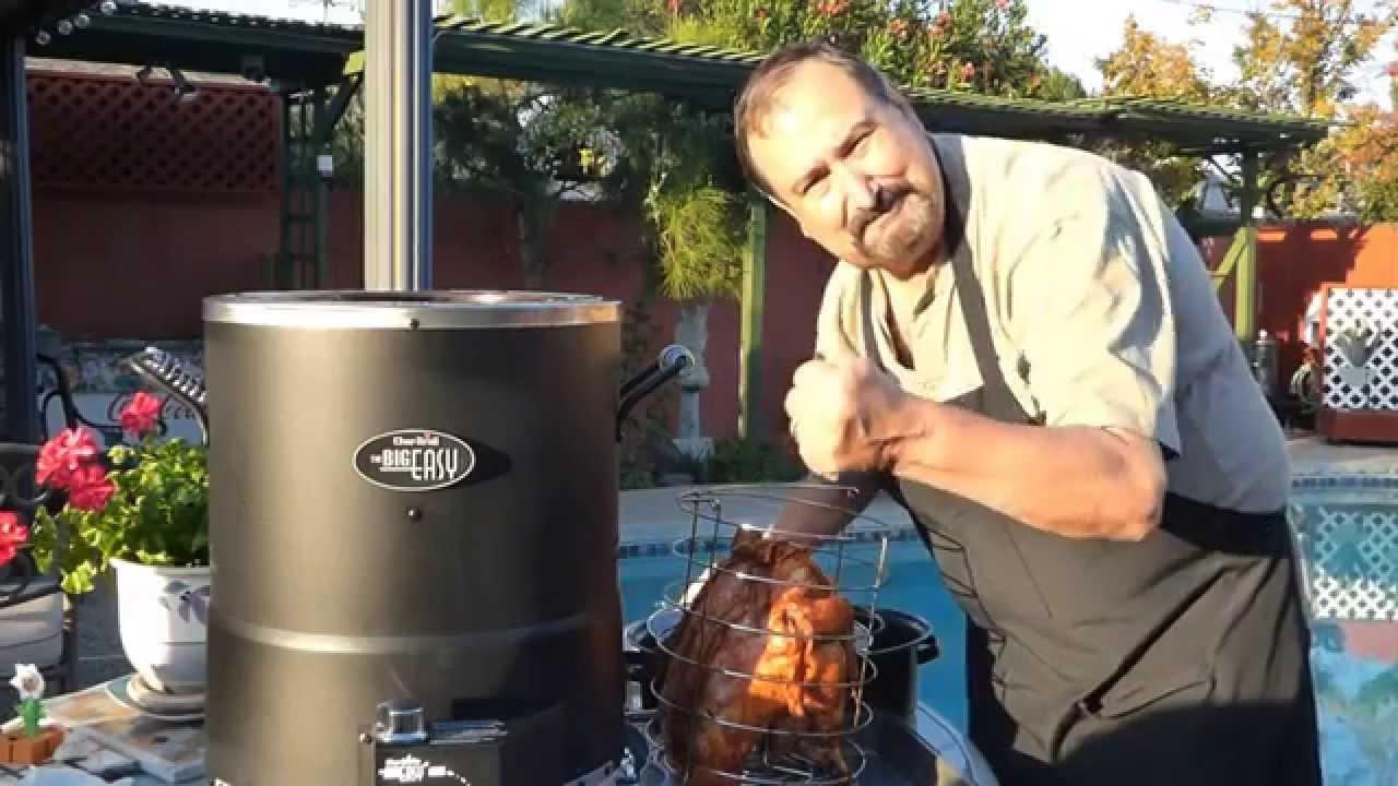 Turkey in the big easy recipes