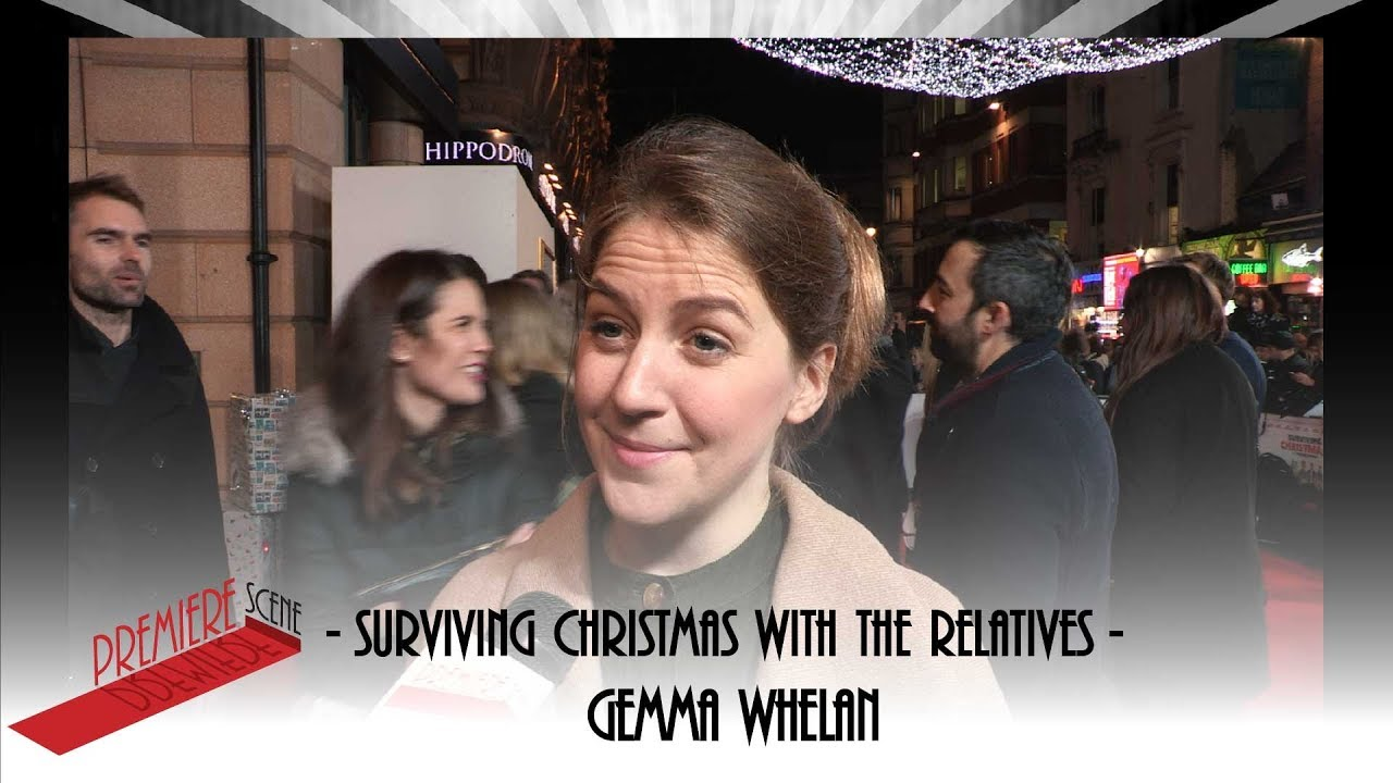 Surviving Christmas With The Relatives 2020 Surviving Christmas with the Relatives   Gemma Whelan interview