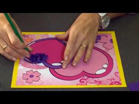 Торцевание и аппликация из бумажных шариков видео мастер класс ТМ АппликА